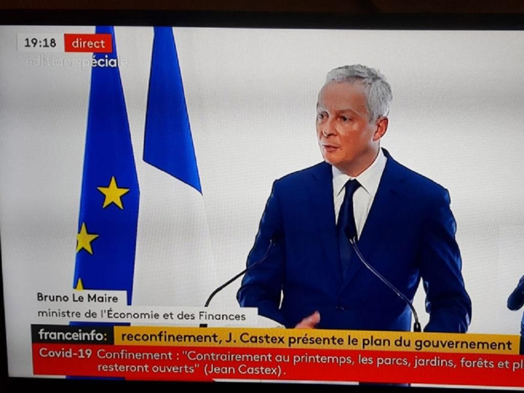 Bruno Le Maire a annoncé de nouvelles aides aux entreprises - DR