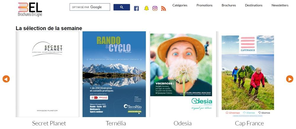 Le site Brochuresenligne.com - DR