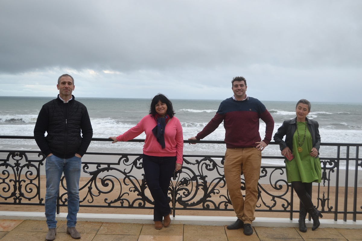 Les dirigeants des 3 agences réceptives de Biarritz : Biarritz for Events, Evenida et Esprit basque - DR