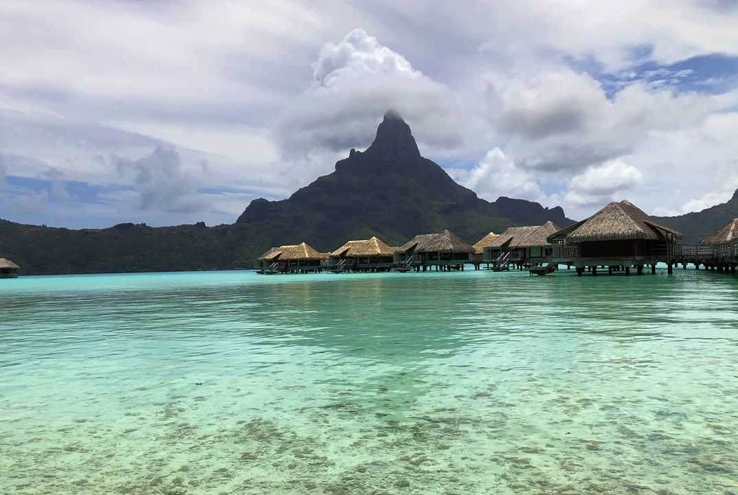 La magie de Bora-Bora, sans septaine à l'aller comme au retour... /crédit JDL