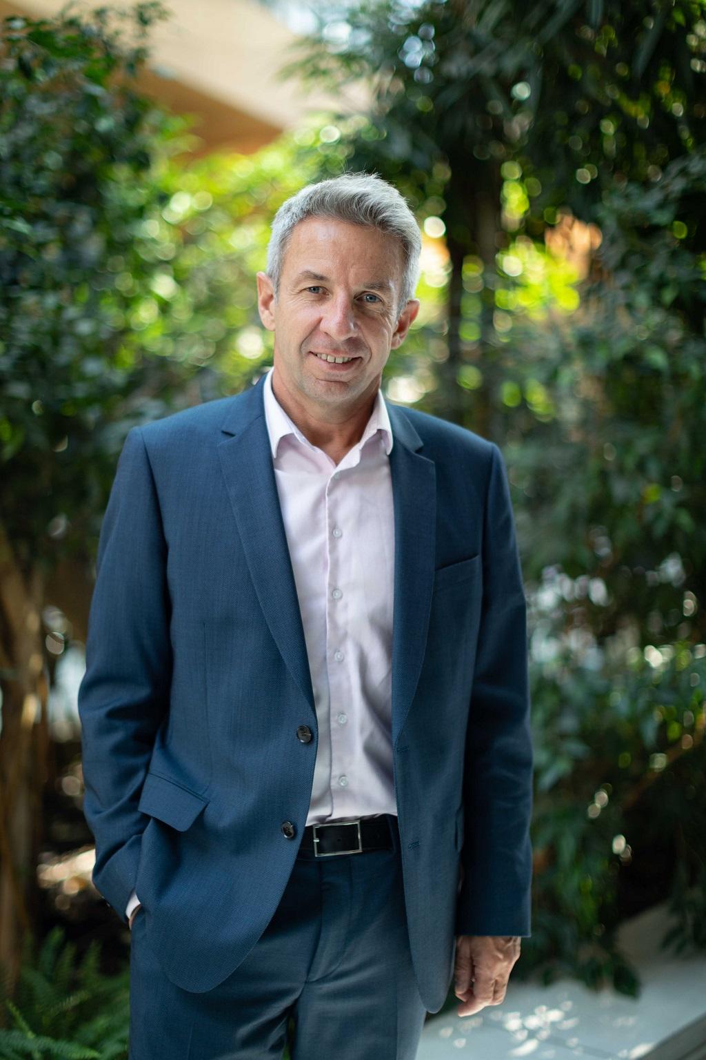 Lionel Flasseur, directeur général d'Auvergne Rhône-Alpes Tourisme. - Credit : Pauline Pineau.