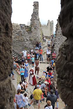 Visite Théâtralisée du château de Penne - © AGIT