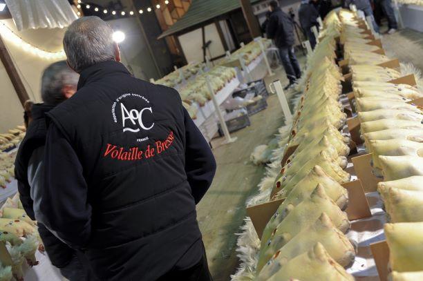 Les glorieuses de Bresse. Concours et marchés aux volailles fines - Photo : Alain Doiré/Bourgogne-Franche-Comté Tourisme