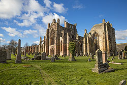 Melrose Abbey - DR VisitScotland - Kenny Lam