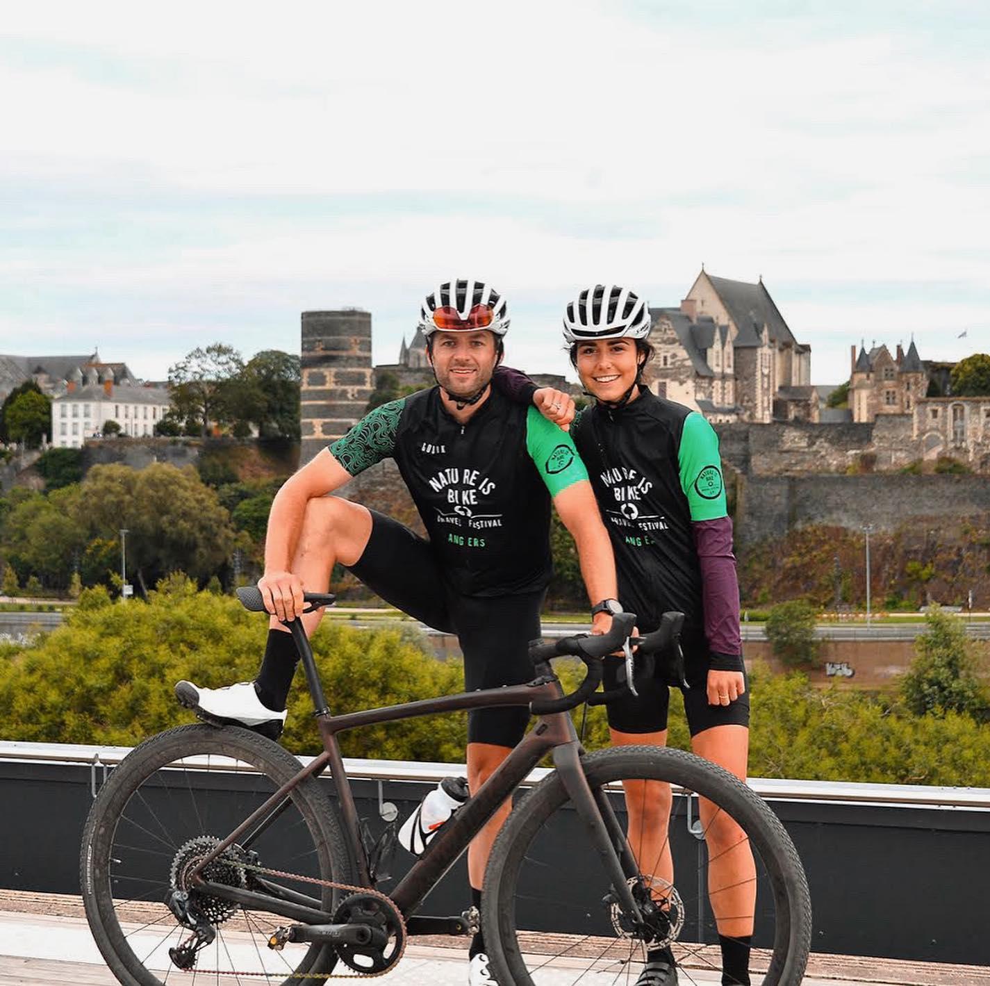 Avec Nature is Bike Angers devient le pionnier du Gravel en France, un événement qui ambitionne de pratiquer un loisir, un sport, dans un état d'esprit et un mode écoresponsable - DR : Nature is Bike