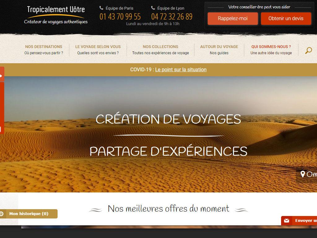 Tropicalement Vôtre transfère son siège social à Lyon et ferme son agence à Paris