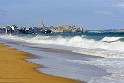 Plage Saint Malo © Yannick Le Gal
