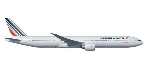 Air France qui possède une flotte de 68 appareils de type Boeing 777 n'est pas concernée par cette interdiction - DR