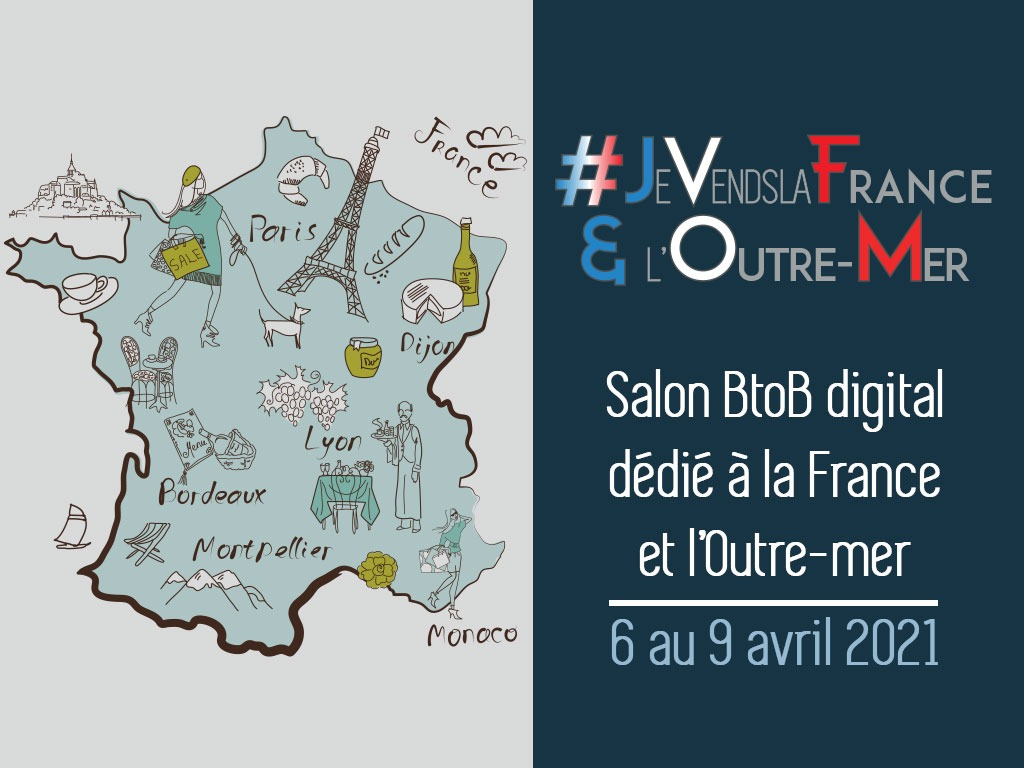 Le Groupe TourMaG.com lance son 1er Salon digital BtoB #Je Vends la France et l'Outre-Mer !