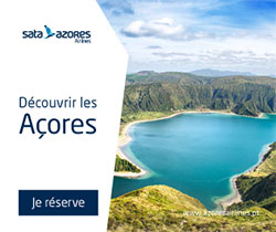 SATA Azores Airlines vous fait voyager de la France, vers le monde