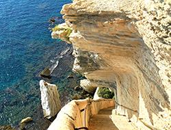 Bonifacio - Escalier du Roy d'Aragon - © Sébastien Aude