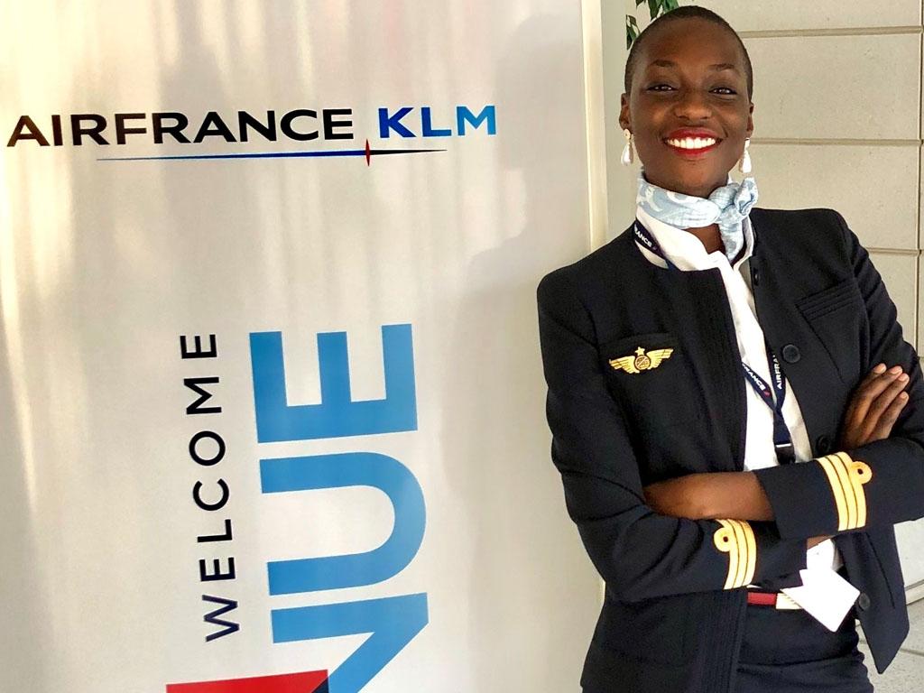 """Lydie Vissoh : """"La situation actuelle est très difficile et n'a épargné personne, surtout pas les industries aéronautique et du tourisme qui font partie des plus touchées. """" Photo AF"""