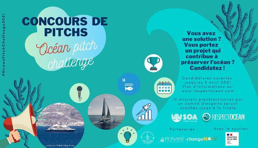 """Ponant soutient l'""""Ocean pitch challenge"""", un concours en faveur de la préservation de l'océan"""