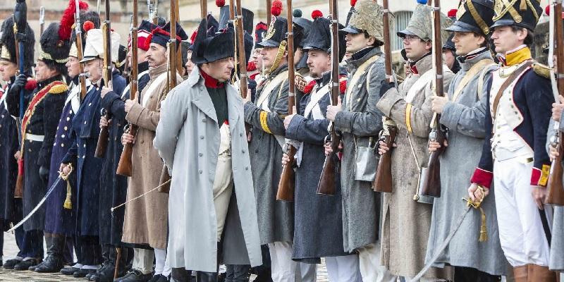 """Un week-end de reconstitutions historiques """"Napoléon Ier à Fontainebleau"""" est prévu en octobre 2021 - DR"""