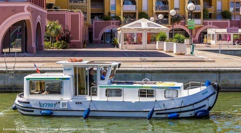 Parmi les offres nous trouvons une croisières sur le Canal du Midi - DR Lidl Voyages