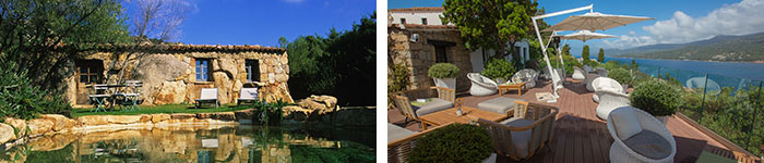 © Domaine de Murtoli - A Muredda / © Hôtel Miramar - Propriano