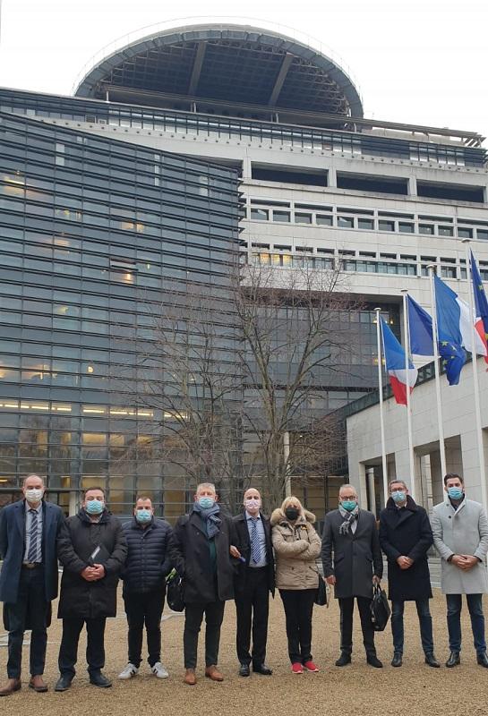 Les organisateurs ont été reçus à Bercy par le directeur de cabinet d'Alain Griset - DR : CAI