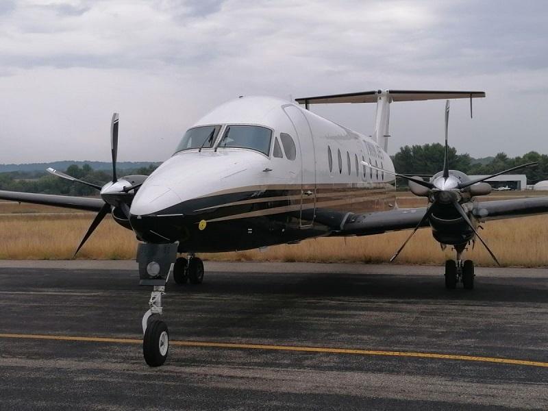 Twin JeT assurera  2 allers-retours hebdomadaires entre Le Puy-en-Velay et Paris - DR