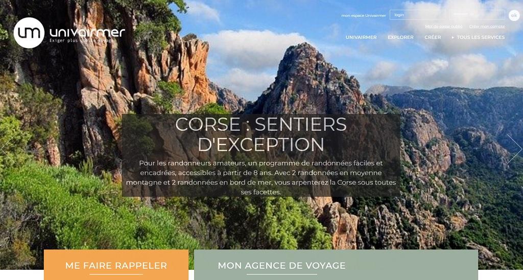 Univairmer met en place une offre sur la France. Un catalogue à destination des clients et des collaborateurs sera bientôt disponible - DR : Capture écran Univairmer