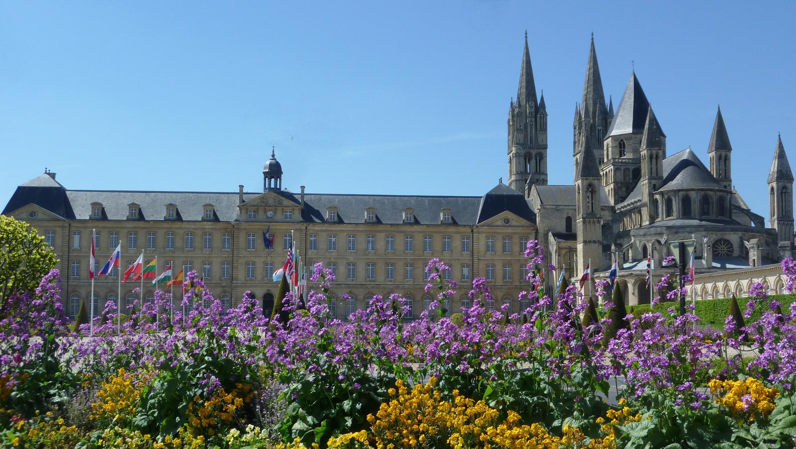 Abbaye aux Hommes  voulue par Guillaume le Conquérant - DR : Emilie Ursule / Normandie Tourisme