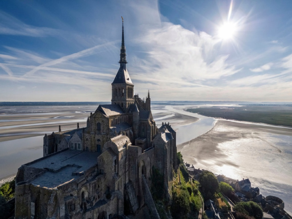 Le Mont-Saint-Michel, l'un des sites les plus visités de France - DR : Collection OT Tourisme