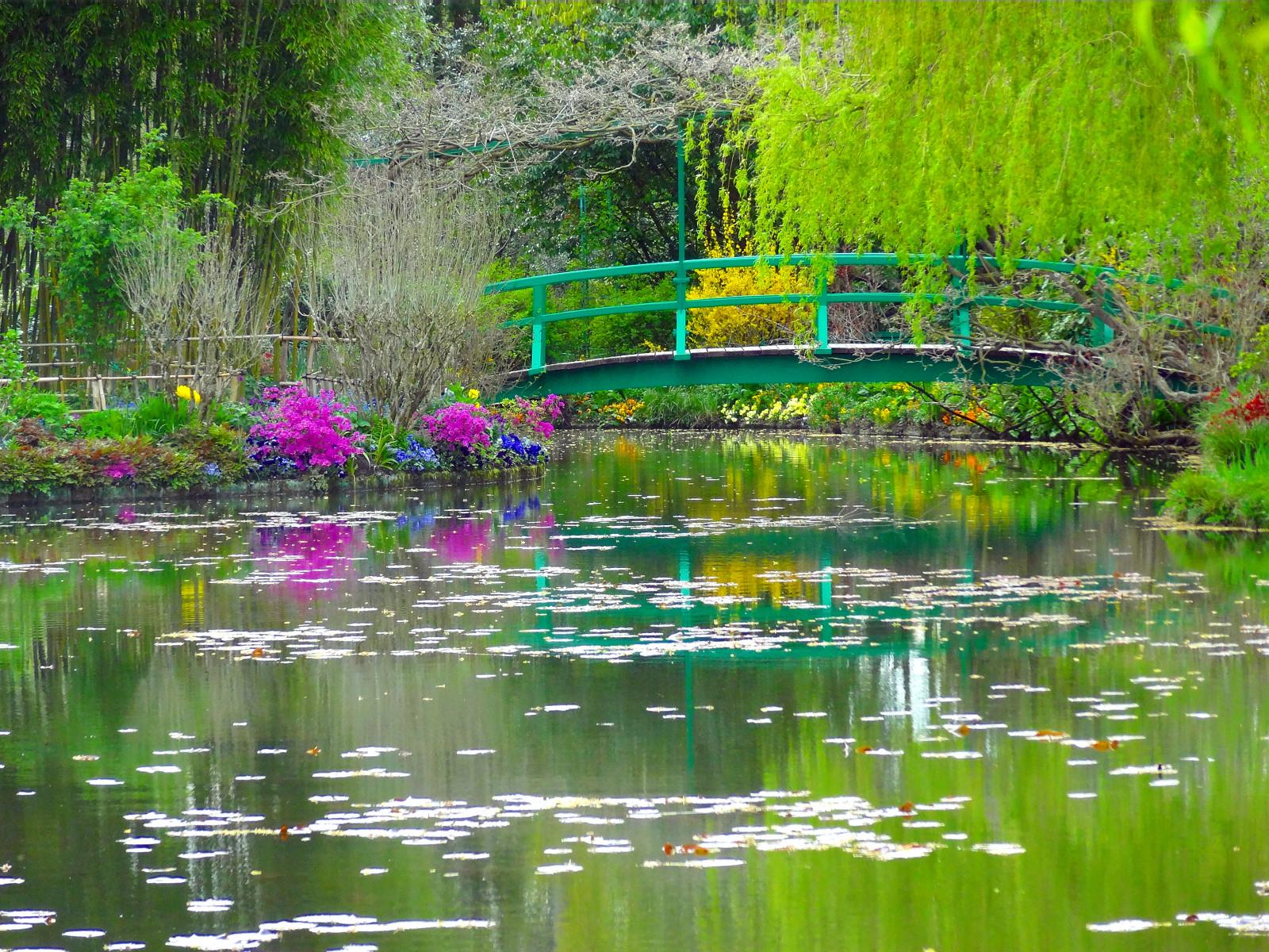 Le Pont Japonais dans le Jardin Claude Monet à Giverny - DR : Eva Tessier, Normandie Tourisme