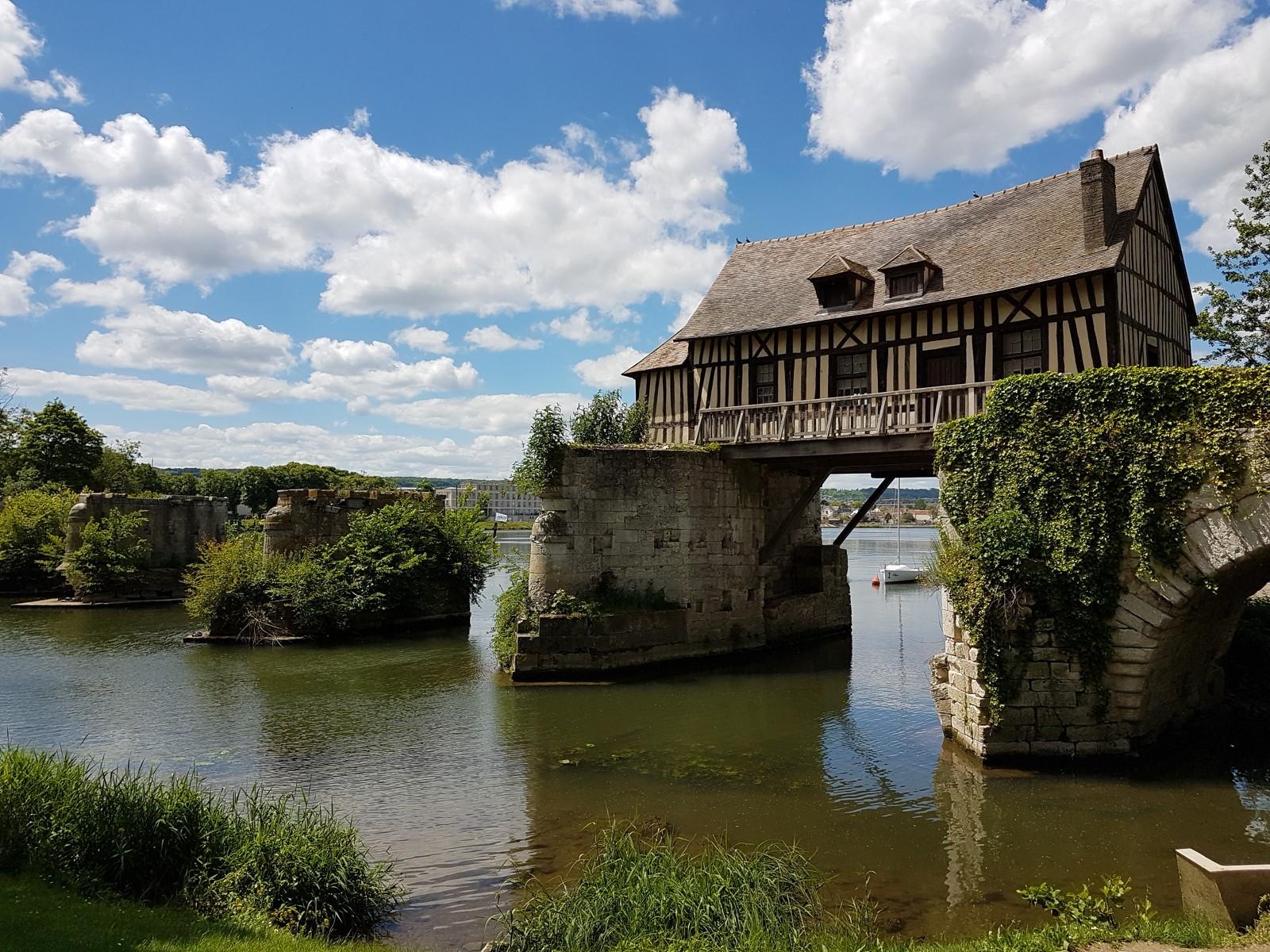 Le vieux moulin à Vernon - DR : Séverine Frères, Normandie Tourisme