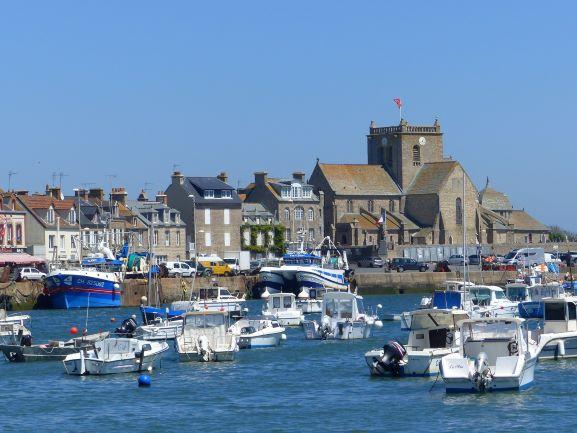 Le port de Barfleur - DR : Emilie Ursule, Normandie Tourisme