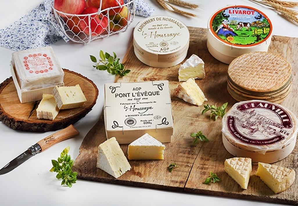 Plateau de fromages du Calvados - DR : Patrick Forget Saga Photo
