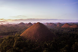 Chocolate hills © PDOT et Jacob