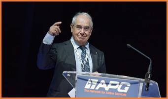 Jean-Louis Baroux Président de l'APG World Connect  -DR APG