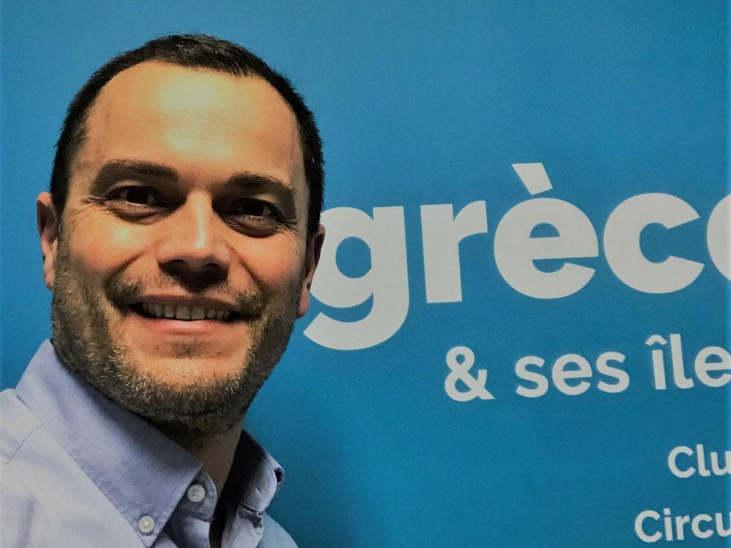 """Nicolas Ivaldi : """"Nous pensons que la Grèce pourra faire une belle saison. L'annonce de la date de la réouverture de la saison touristique par les autorités grecques est un signal fort qui nous donne de la visibilité et nous permet de nous positionner."""" - DR"""