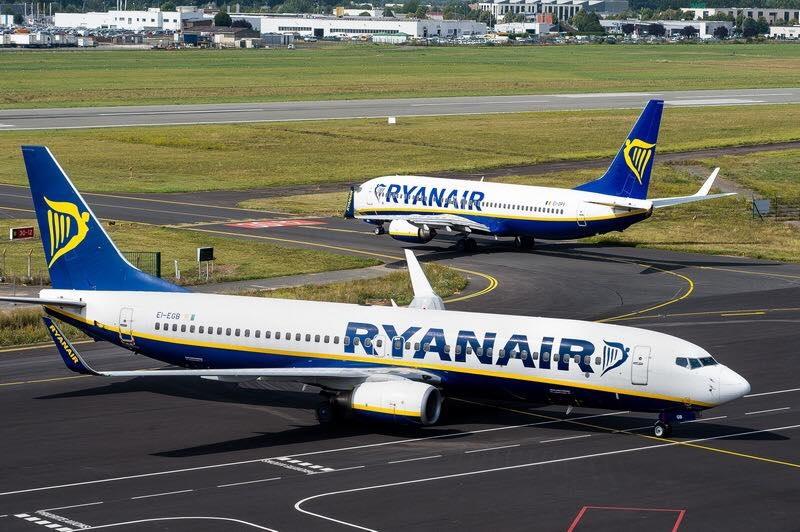 La compagnie table ainsi sur un niveau d'activité qui pourrait atteindre 90% du niveau de 2019 - Photo DR Ryanair