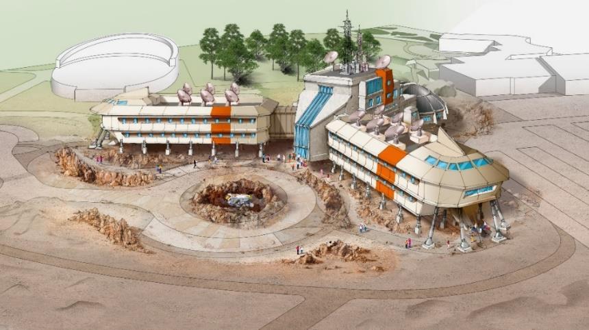 L'hôtel « Station Cosmos » - DR