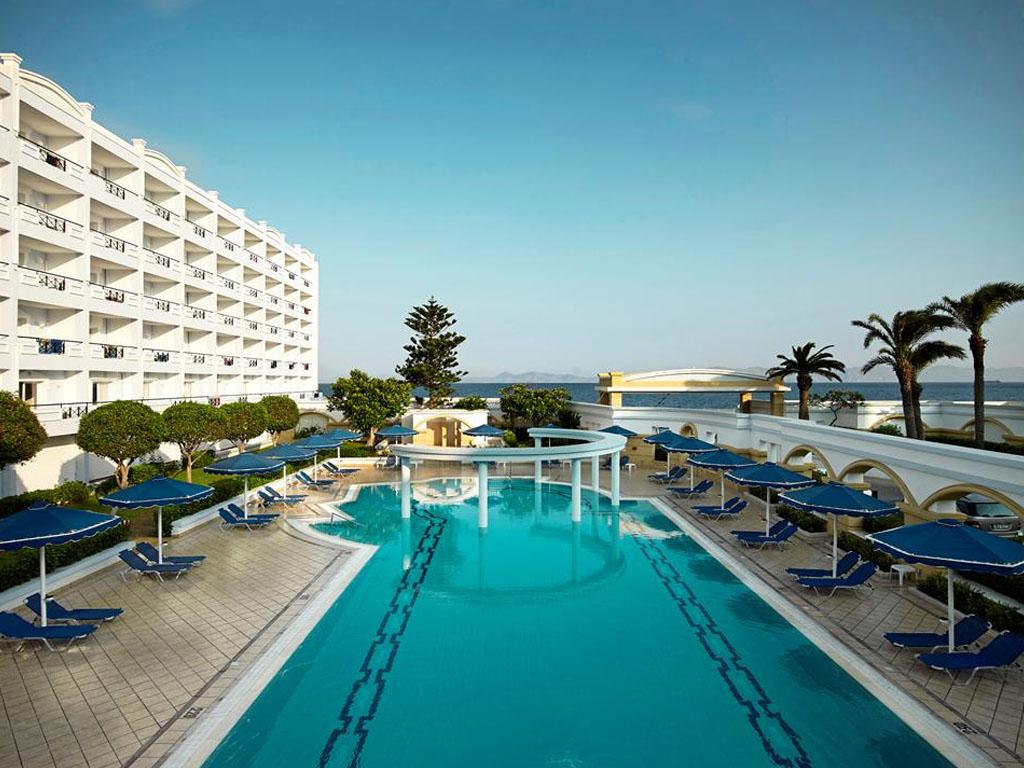 Le séjour se déroulera à l'hôtel Mitsis Grand Beach - DR Sunweb