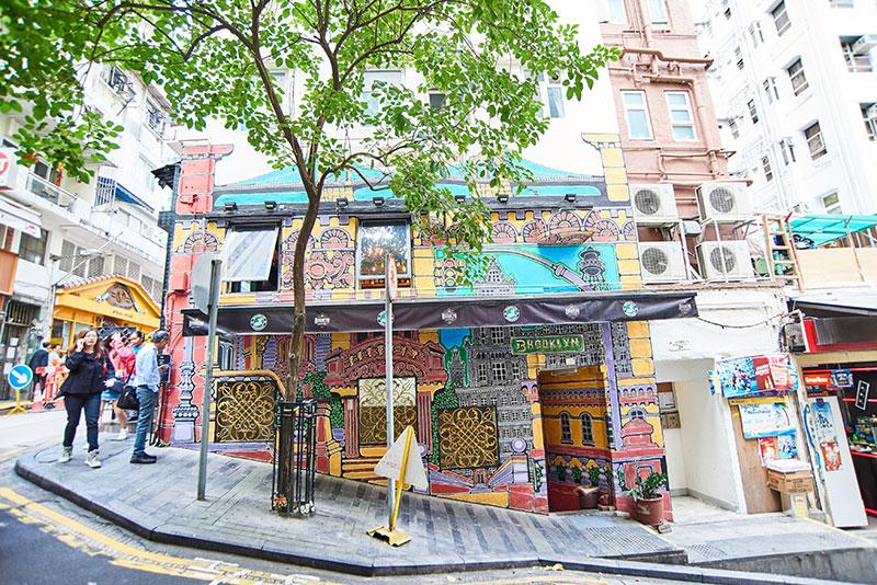 Street Art dans le quartier Old Town Central © Hong Kong Tourism Board