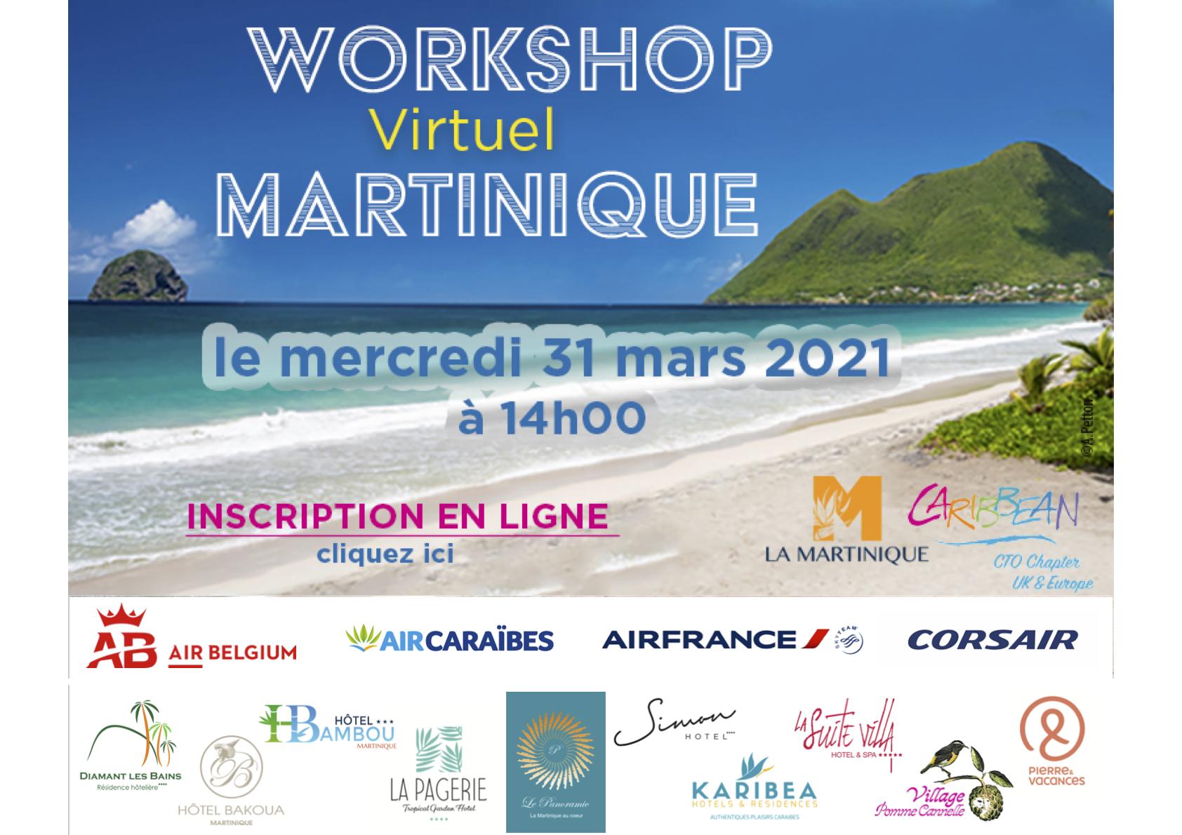 La Martinique tient son workshop virtuel ce mercredi à 14h
