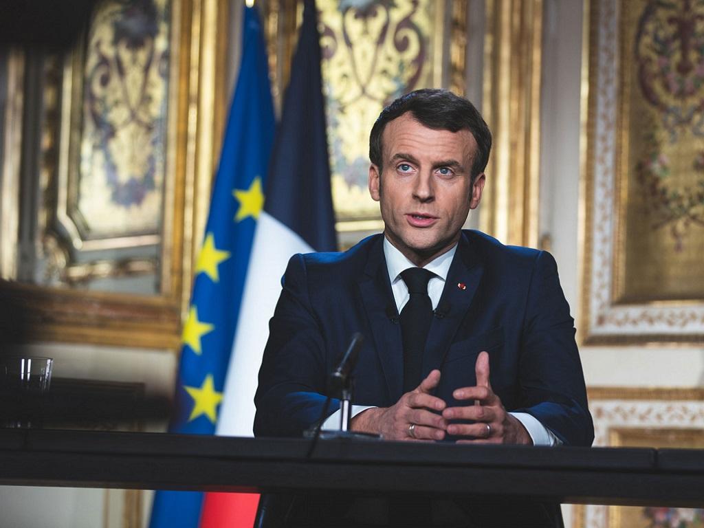 Emmanuel Macron vient d'annoncer l'interdiction de se déplacer à plus de 10km de chez soi - Crédit photo : Elysée.fr