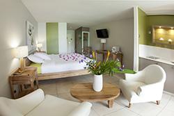 © Hotel La Pagerie - Chambre Confort vue Jardin Tropical
