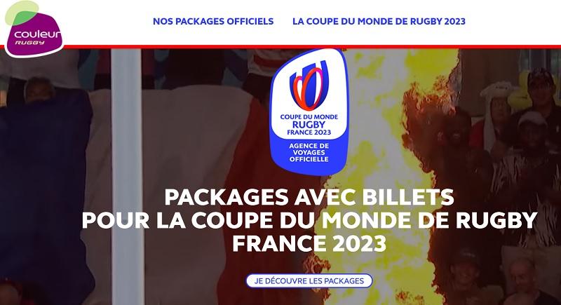 Coupe du Monde de Rugby 2023 : Couleur ouvre les réservations à tous les fans de rugby