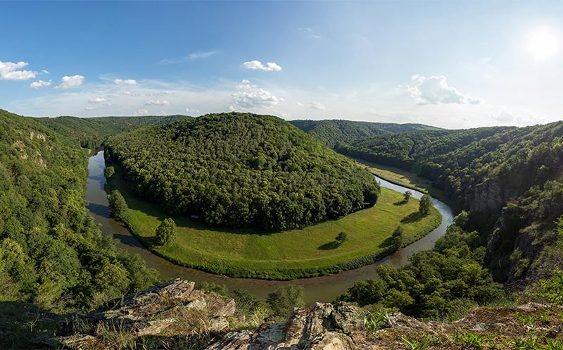 Le parc national de Podyji (Rocher de renard) © Znojmoregion / CCRJM