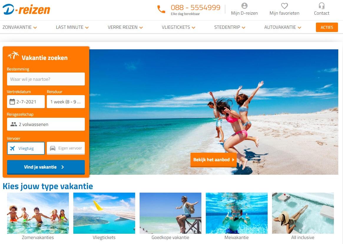 D-reizen compte 1150 employés et 285 agences de voyages - DR