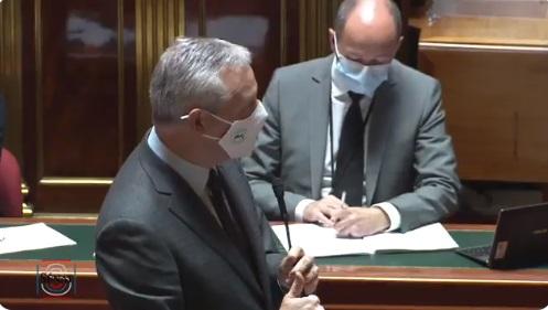 Bruno Le Maire devant le Sénat - DR