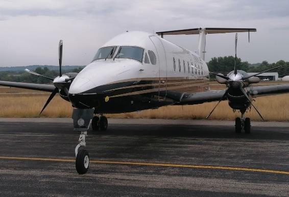 Twin Jet assurera par semaine 2 allers-retours, les mardis et les mercredis - DR