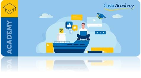 Costa Academy : Costa Croisières lance son nouveau programme e-learning