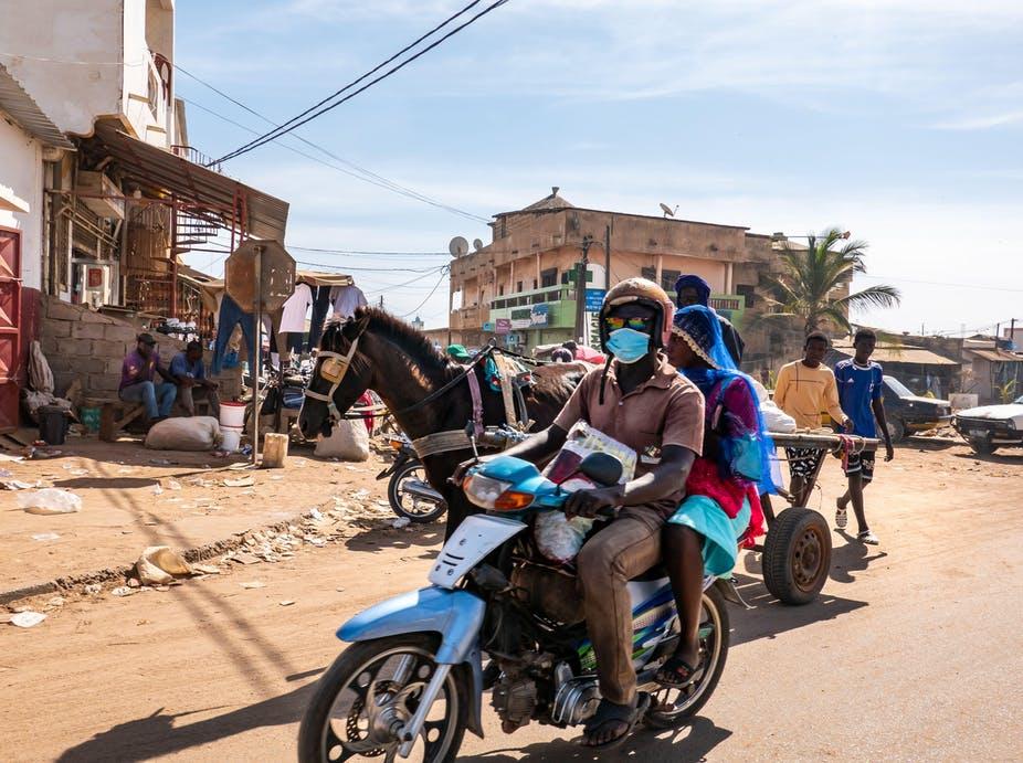 Le Sénégal est parvenu à garder le nombre de cas de Covid-19 bas et à maintenir son économie en marche. Catherine Leblond/Alamy Stock Image