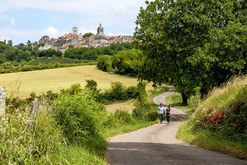 Randonnée Vézelay © Alain Doire-BFCT