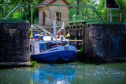 Ecluse canal du Centre © Franck Juillot Creusot Montceau Tourisme