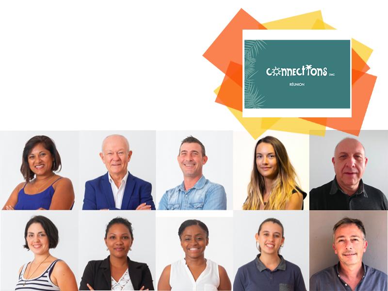 Photo collaborateurs © Connections Réunion