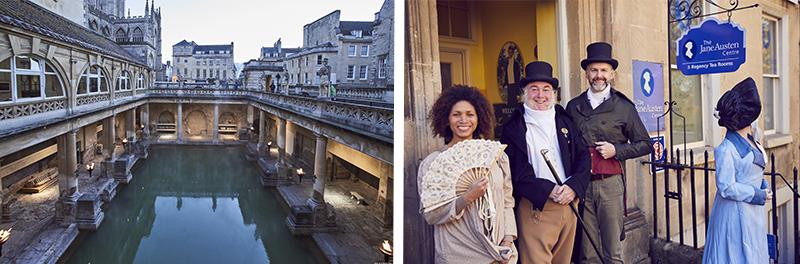 Bains Romains©VisitBritain - Jane Austen Centre ©VisitBritain/Simon Winnall